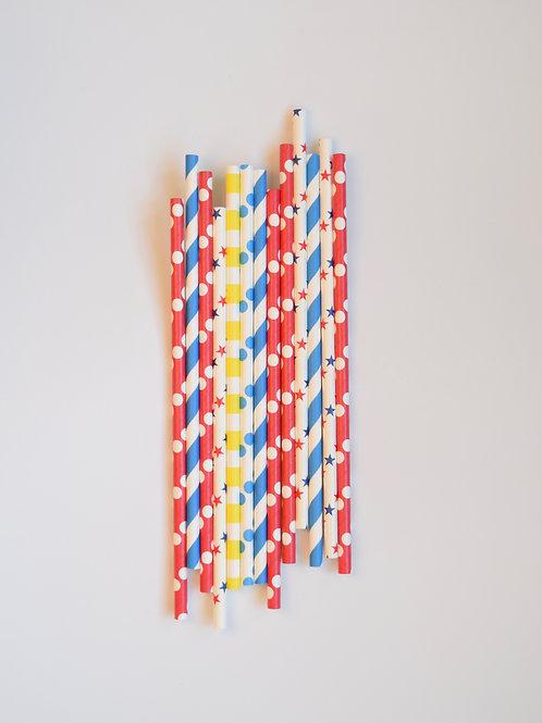 Superhero Mix Straws