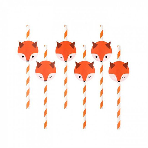Mini Fox Straws
