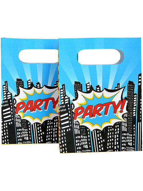 Superhero Pop Art Party Bags