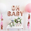 Thumbnail: Rose Gold Oh Baby Letter Balloons