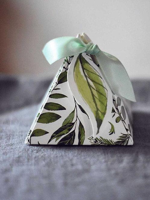 Foliage Pyramid Box