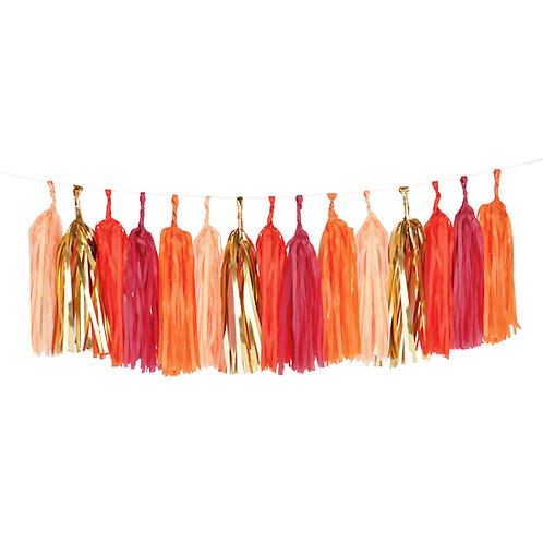 Sunset Tassel Garland Kit