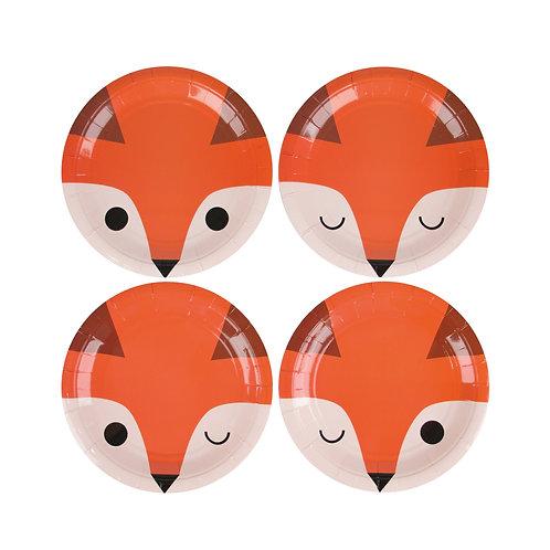 Mini Fox Plates