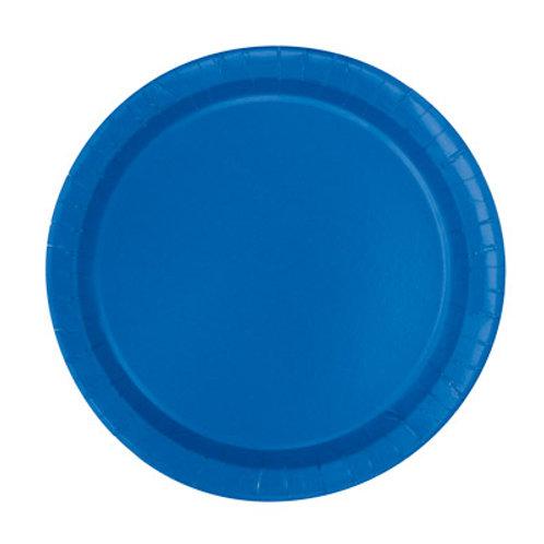 Royal Blue Plates