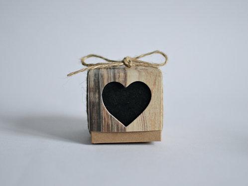 Rustic Heart Box
