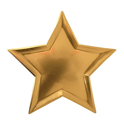 Gold Star Plate