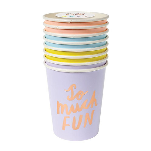 Typographic Cups