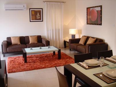 Lounge/diner at Villa Marina