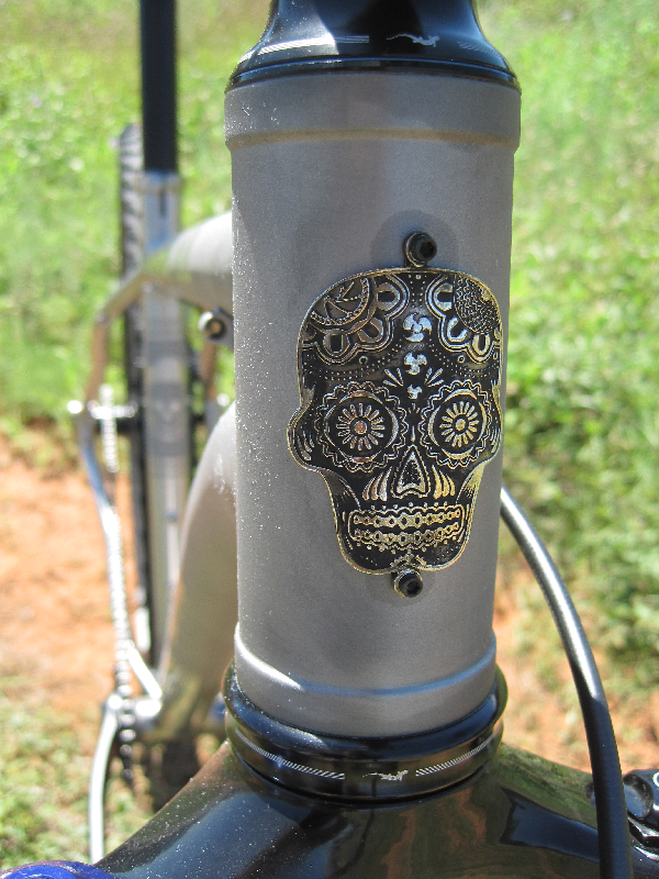 Purely awesome headbadge