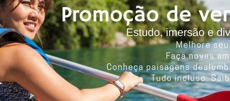 Promoção: Inglês de verão no Canadá