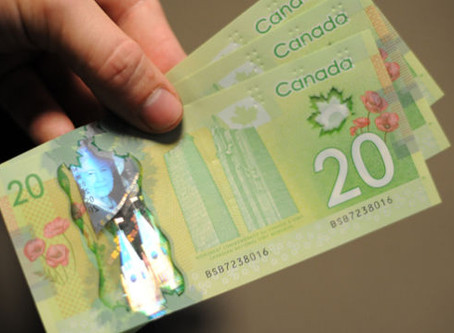 Salário mínimo no Canadá em 2020