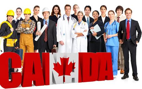 Vagas de emprego no Canadá subiram 15%