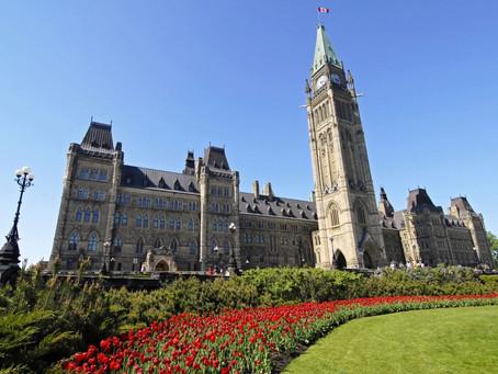 Grupo de inverno intercâmbio para Ottawa.