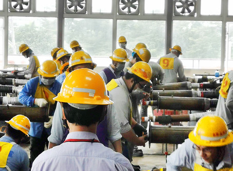輸配電地下電纜裝修乙級技術士技能檢定合格/Level B technician for underground power cable installation and repair