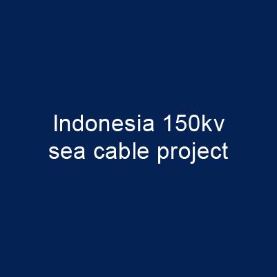 印尼 150kV 海纜專案
