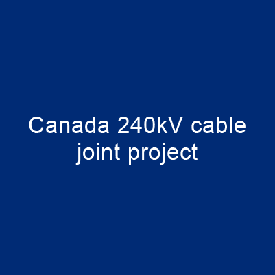 加拿大 240kV 電纜終端匣 專案