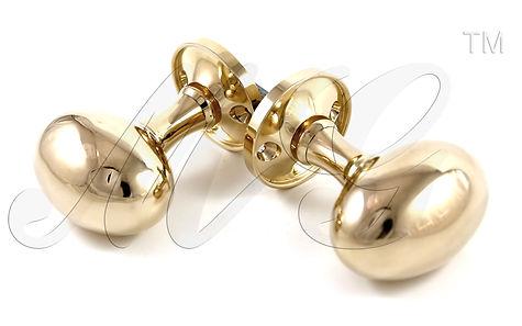 Дизайнерские дверные ручки овальные кнобы купить в России у производителя