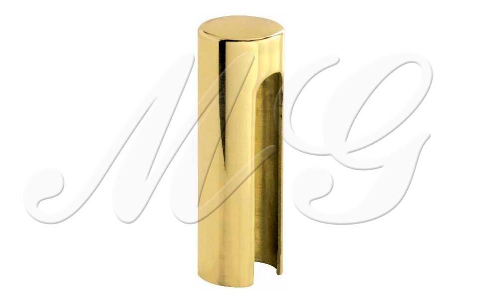 Колпачок для ввертной петли латунный золото красивый