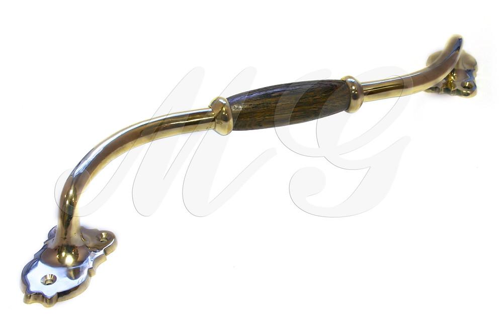 Ручка латунная скоба для входной двери