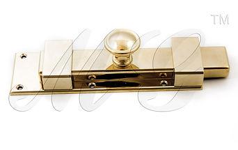 Засов дверной большой 250х60 мм латунь купить у производителя в России