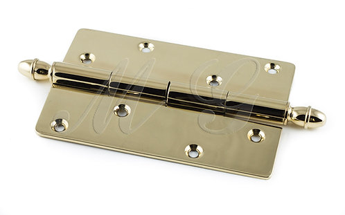 Петля замковая (неразъемная) 110 мм - латунная