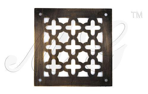 Решетка латунная 1 Кресты