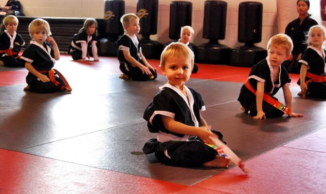 Preschoolers Get a Head Start with Martial Arts