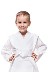 Traverse City Happy Martial Artist Kid