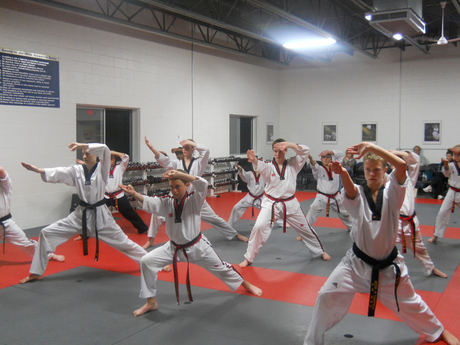 Martial Arts Demo Team In Northern Michigan