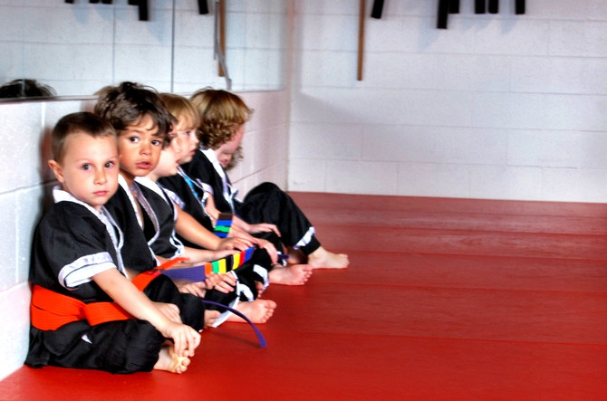 Children Learn Big Lessons in Little Ninjas!