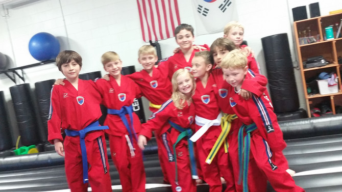 Martial Arts is great for kids year round!