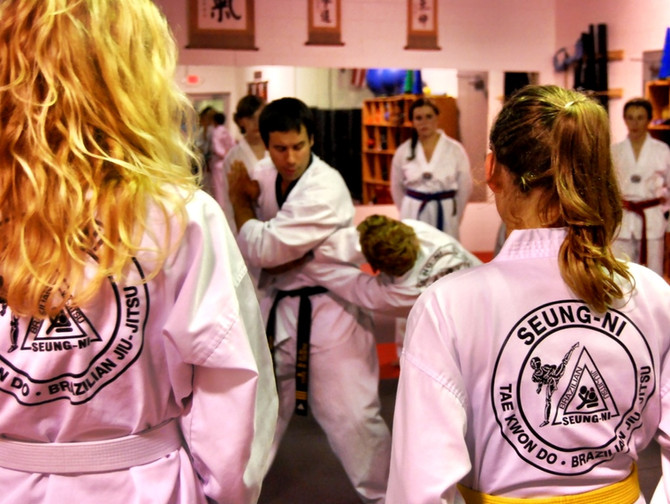 Northern Michigan Teenagers Stay on Track with Martial Arts