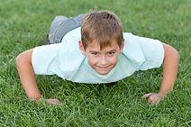 Traverse City Martial Artist push-ups