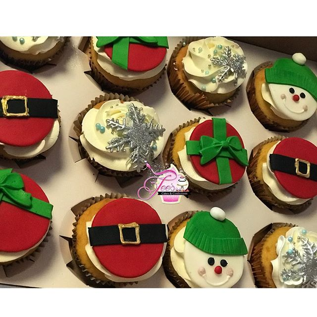 Order your Holiday Party cupcakes TODAY! 🎄❤️💚🎂