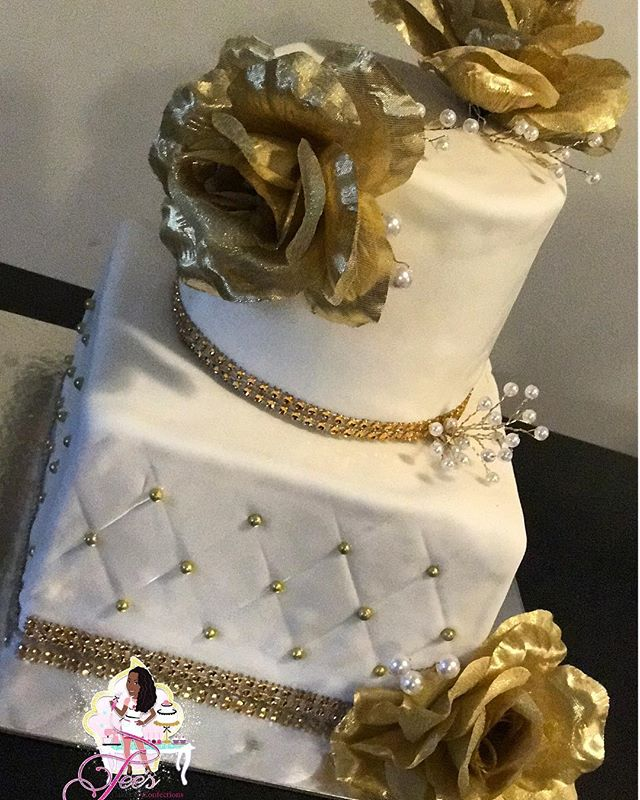Wedding Anniversary Cake 🎂✨👰🏾🎩