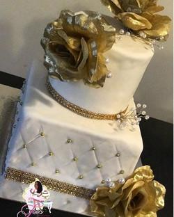 Wedding Anniversary Cake 🎂✨👰🏾🎩