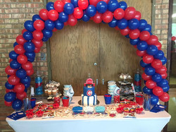 Cubs Baby Shower Client Photo