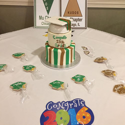 Graduation Cake Client Photo