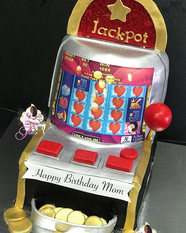 Slot Machine Cake ❤️🎂