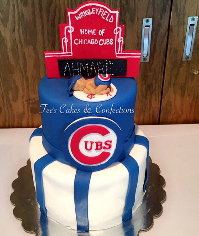 Cubs Baby Shower