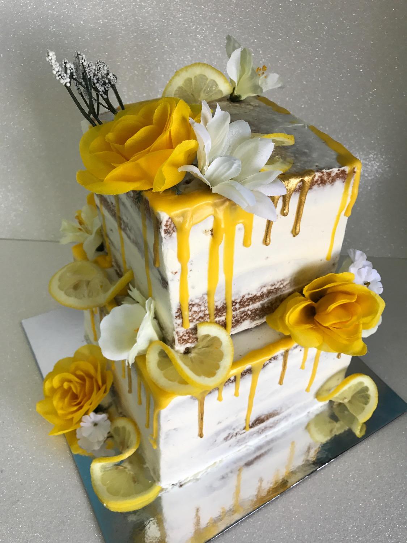 Custom Naked Cake