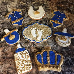 Royal baby shower sweets 😍💙👑👶🏾🍼