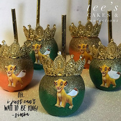 Oh, I just can't wait to be king 👑 🦁🍏