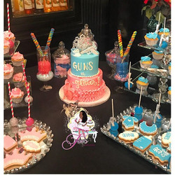 Baby Shower Gender Reveal Sweets