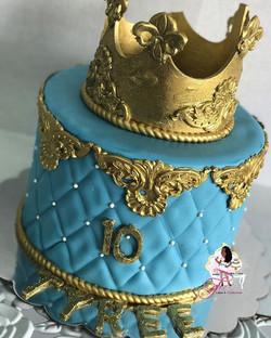 Royal Prince 👑 Cake for Tyree's 10th birthday 🎉🎂