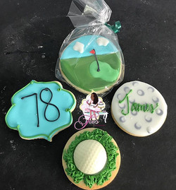The perfect cookies for any golfer 🏌