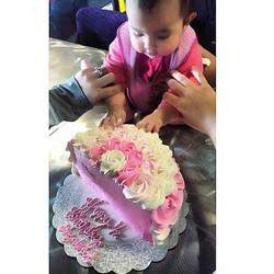 1/2 Birthday Cake Client Photo