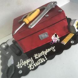 Handy Man Cake 🔨⚙️🔧🔩🎂
