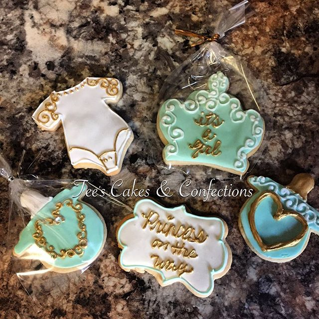 Baby Shower Cookies 😍👶🏾🍼🍪😋