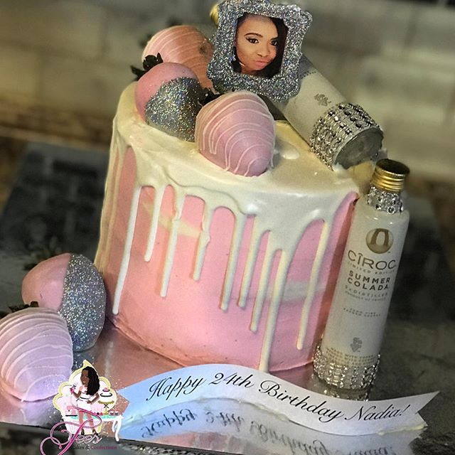Drip Cake 💕🎂🎀